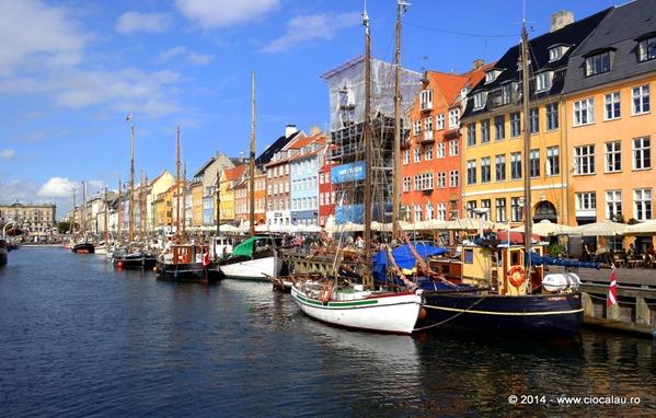 Nyhavn-Copenhaga