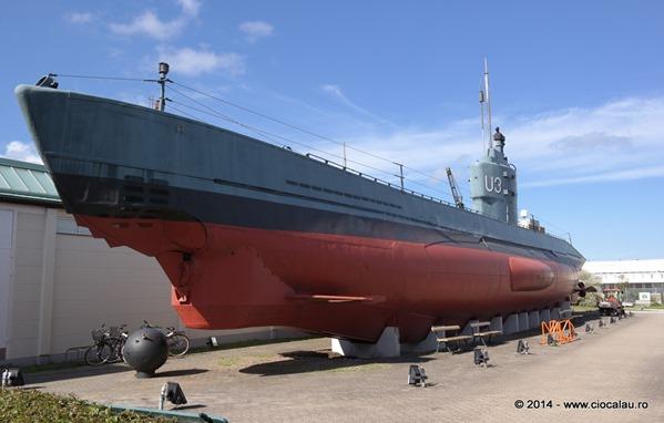 submarin-U3-muzeul-tehnicii-malmo