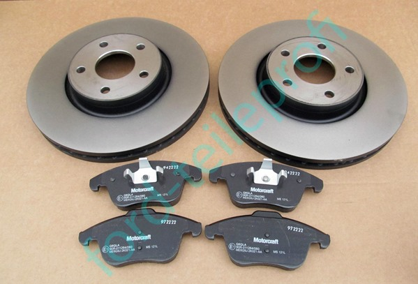 set-discuri-placute-motorcraft-ford-mondeo-mk4