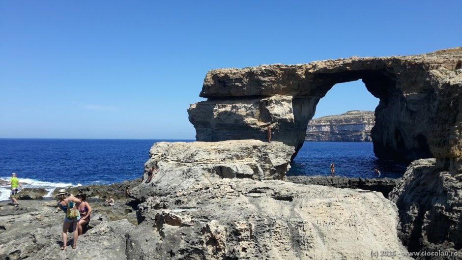 Azure Window (Fereastra Albastra) - insula Gozo / Malta