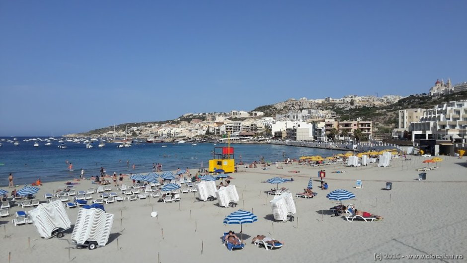 Mellieha Beach, Malta